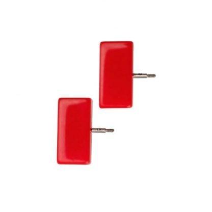 tope de cable rojo